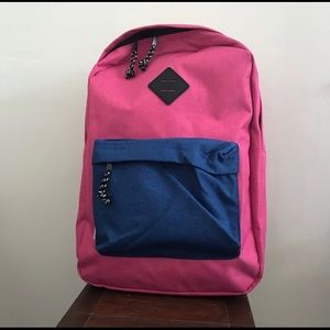 Yoder Pink And Blue Laptop Sleeve backpack